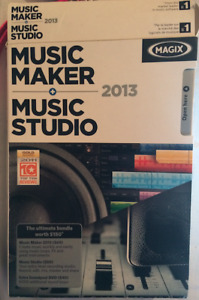 Magix Music Maker CD set
