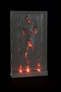 New and sealed Star Wars Han Solo in Carbonite 3D  $30
