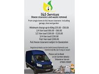 I&S Services rubbish removal / house clearance