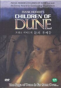 FRANK HERBERT'S CHILDREN OF DUNE (2003) DVD (Sealed)