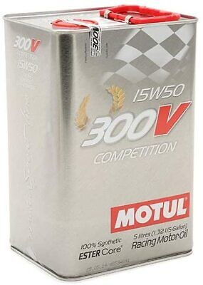 Motul 300V Competition 15W50 5L Aceite Sintético