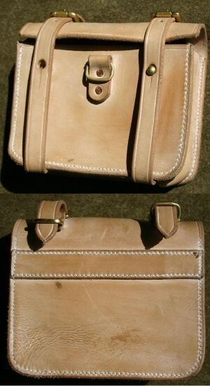 Canadian 1916 Pattern Oliver Leather Ammo Pouch
