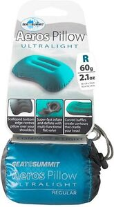 SEA TO SUMMIT AEROS ULTRALIGHT PILLOW LARGE - TEAL Palm Beach Gold Coast South Preview