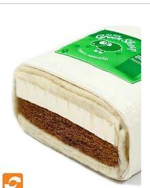 Brand New Natural Coir Crib Mattress - Custom Size From The Little Green Sheep