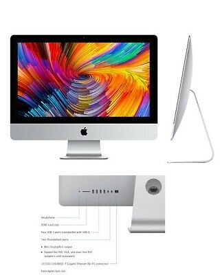"Apple iMac 21.5"" Core i3, 3.3GHZ 4GB RAM / 500gb HD - (2013 ) A Grade"