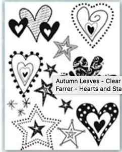 Brand new Autumn Leave clear stamps London Ontario image 4