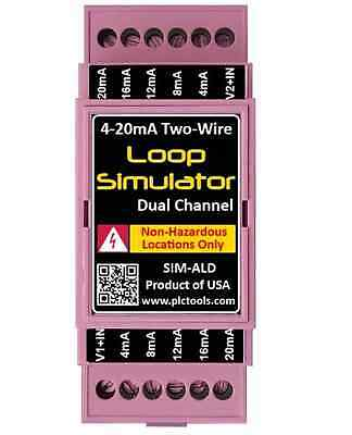 4-20ma Simulator Dual Channel For Generating Plc Inputs Valves Instrumentation
