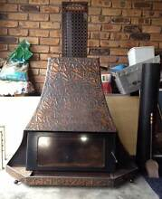 Copper fireplace Caves Beach Lake Macquarie Area Preview