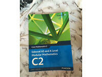 Edexcel AS and A Level core Mathematics text book