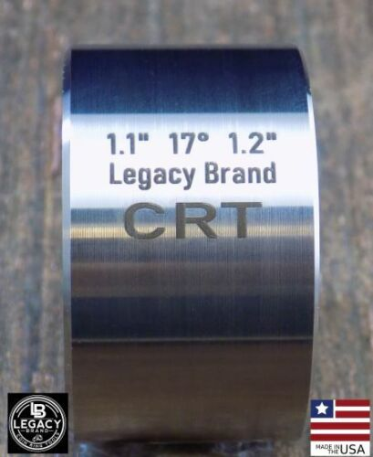 """17 DEGREE Folding Die (1.10"""" x 1.20"""") making coin ring Stainless"""