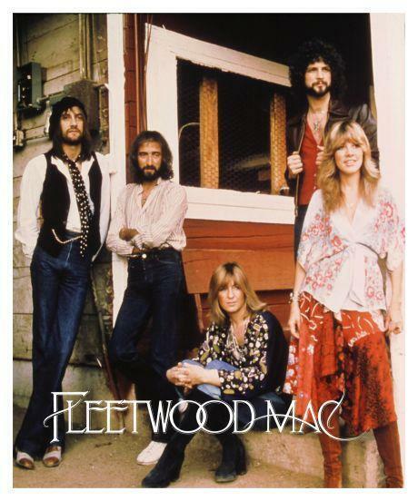Fleetwood Mac *VERY LARGE POSTER* Amazing IMAGE Stevie Nicks Lindsey Buckingham