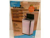 NEW EKO Sensible Eco Living 80L Hands-Free Motion Sensor Large Waste Bin/Trash