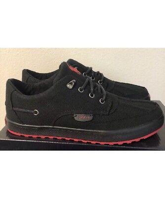 - Polo Ralph Lauren Men's Ramiro Sneakers Canvas Shoes Black Size 9 D