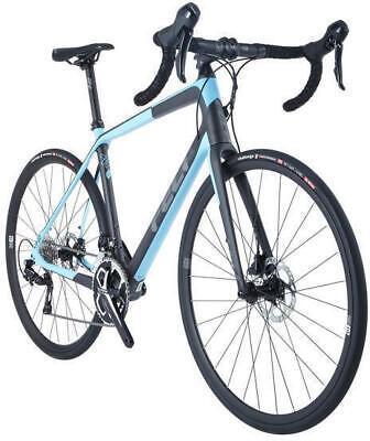 2018 Felt VR5 Carbon Fiber 105 DISC Road Bike Char/Lt Blue 51cm Retail (Felt Road Bikes)