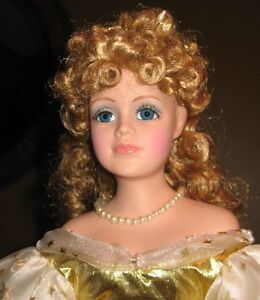 "EATON'S Second Christmas Beauty Doll by Dynasty    20""   1996"