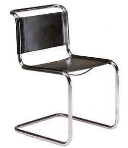 Mart stam chair sedia bauhaus design 1926 made in italy for Design stuhl nachbau