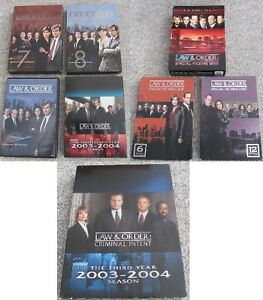 Various Law & Order Shows & Seasons on DVD