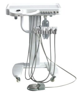 USA DENTAL EQUIPMENT PORTABLE DELIVERY UNIT/SYSTEM  Handpiece Cart