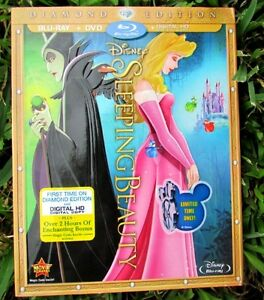 Sleeping Beauty Diamond Edition sealed DVD/Blu-Ray $30 O.B.O