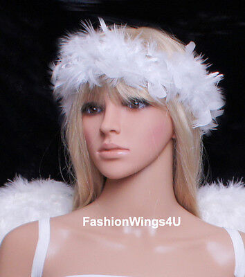 Feather Ring Angel Halo Bracelet Necklace Hairband Wreath (Teens Accessoires)