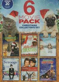 6 Movie christmas pack dvd