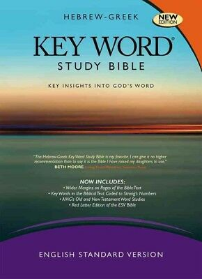 Hebrew-Greek Key Word Study Bible : English Standard Version, New Version, Ha...