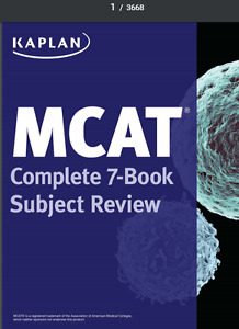 MCAT Complete 7-Book Subject Review 3rd Edition e-text
