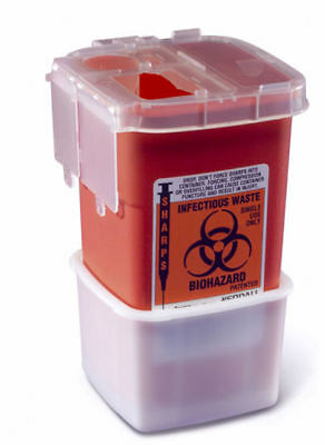Medline 1 Quart Phlebotomy Sharps Disposal Container 100case New Fast Shipping