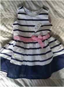 Cotton Dress, brand new tags on, 2T