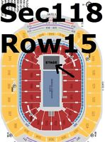 Ellie Goulding June 19 ACC - 2 hard tickets - Section 118 Row 15