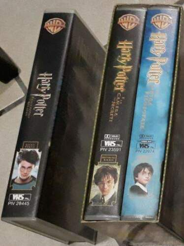3 vhs herry potter
