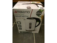 *BRAND NEW* Ambiano Bullet Kettle White