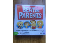 Brand new in sealed cellophane Beat the Parents Board Game