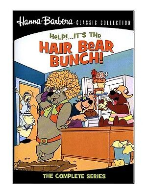 Help It's The Hair Bear Bunch ( Hanna Barbera ) * New * DVD for UK Region 2