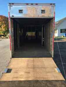 2013 Cargo Look 8.5 x 36' Enclosed Trailer West Island Greater Montréal image 4