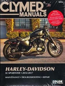 2014-2017 Harley XL883 XL1200 Sportster Repair Service Workshop Manual M256