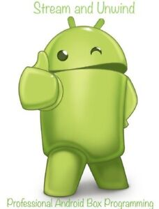 Android box reprogramming and support
