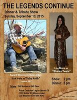 COUNTRY LEGENDS TRIBUTE SHOW