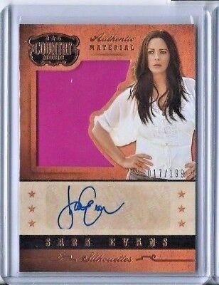Sara Evans Autograph 2014 Panini Country Music Signature Material Auto  199