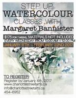 Watercolour Classes with Margaret Bannister