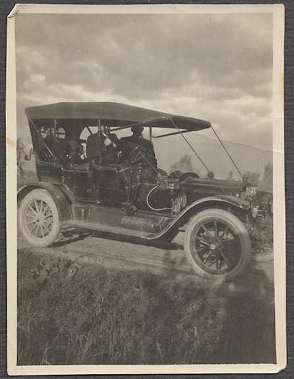 Vintage Car Photo 1910 White Motor Co Touring Automobile 691953
