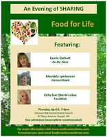 An Evening of Sharing: Food for Life