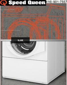 Speed Queen AFNE9BSP113CW01 Commercial Frontload Washer for home use, 30 minute quick wash