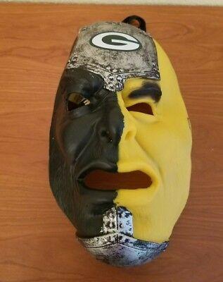 Franklin Sports NFL Team Fan Face Mask Green Bay Packers ()