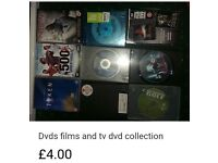 Various dvds (mainly horrors)