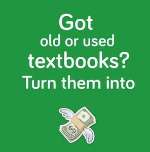 Sell Your Textbooks And Get Cash!