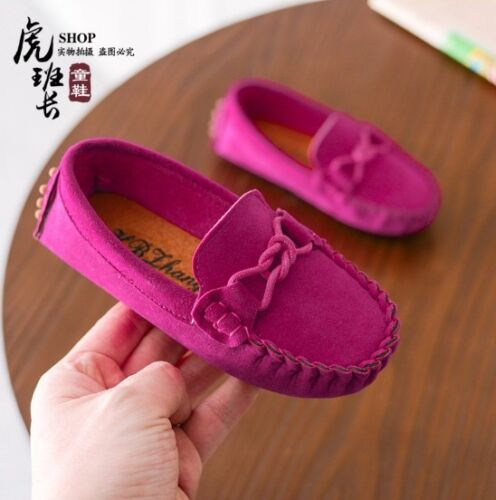 Casual Princess Kids Girls Shoes All-match Toddler Baby Boys Girls Peas Shoes