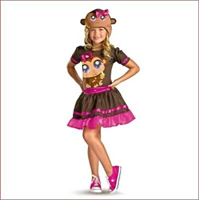 Lps Monkey Classic Halloween Costume Kids Small ( 4-6 ) NEW, NEVER USED - Lps Costumes