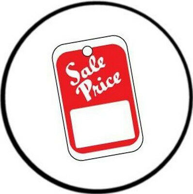 1000 Sale Price Tags Red - White Unstrung