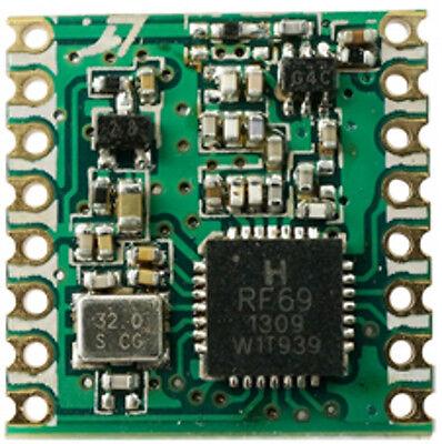 RFM69HCW 433Mhz +20dBm HopeRF Wireless Transceiver (RFM69HCW-433S2)